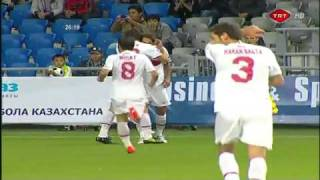 fantastic amazing goal by hamit altintop Euro 2012 qualifying HD Goal of the year 2010 But de l'année.