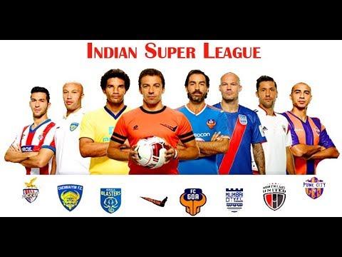 ISL 2017 Kolkata VS Kerala Live Part 2 (17/11/2017)