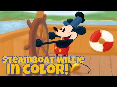 Video Drawing Steamboat Willie in Color! download in MP3, 3GP, MP4, WEBM, AVI, FLV January 2017