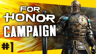 Gameplay For Honor Campaign - Knight #1