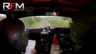 P.J O'Dowd (Driver) and John Young (Navigator) in their Historic Talbot Sunbeam on Stage 8 of the Circuit of Munster Stages Rally 2017. Upload Footage courtesy of Rally Focus Media.