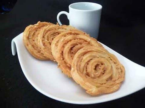 Chakli (Chakri Murukku) Crispy Spiral Snacks Indian Recipe