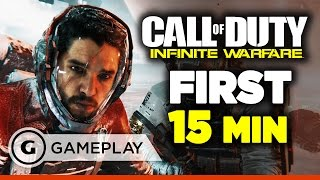 First 15 Minutes of Call of Duty: Infinite Warfare Single Player Campaign