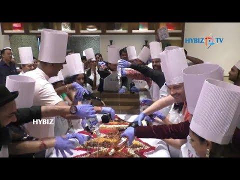Cake Mixing Ceremony in Hotel Ramada Plaza Chennai