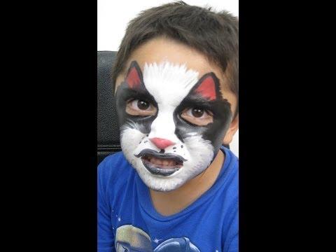 Caras pintadas de lobo videos videos relacionados con for Caras pintadas para halloween