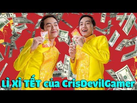 LÌ XÌ TẾT của CrisDevilGamer - Thời lượng: 9 phút và 11 giây.