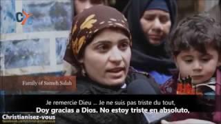 Mariam es la esposa de Sameh Salah, uno de los 21 cristianos coptos egipcios asesinados por Estado Islámico en Libia.