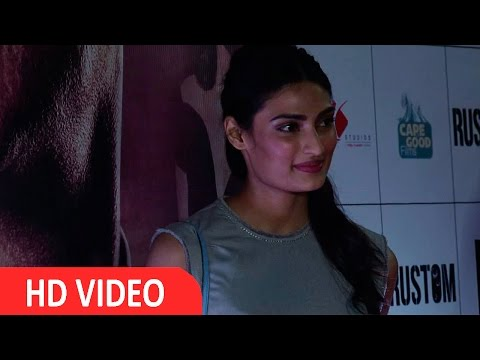 Athiya Shetty At Premier Of Movie Rustom