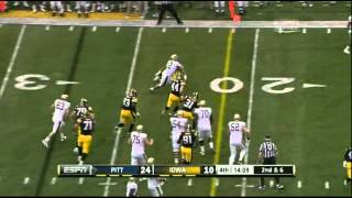 Micah Hyde vs Pittsburgh (2011)