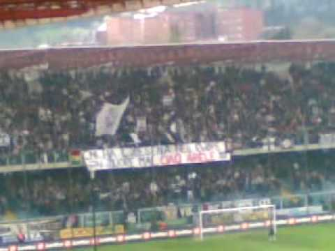 Aficionados del Cesena en el Dino Manuzzi