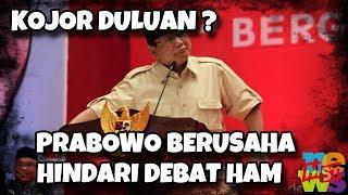 Video Pe (ng) ecut! Prabowo Berusaha Hindari Debat HAM, Kojor Duluan Sebelum Dis (era) ng? MP3, 3GP, MP4, WEBM, AVI, FLV Januari 2019