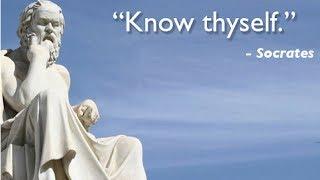 """To know Thyself""-Socrates"