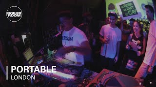 Portable live at Boiler Room London 2013