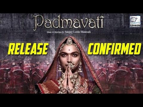 CONFIRMED! Padmavati To Release On December 1st Wi