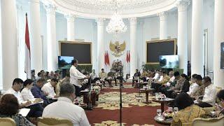 Video Sidang Kabinet: Ketersediaan Anggaran dan Pagu Indikatif Tahun 2020, Istana Bogor, 23 April 2019 MP3, 3GP, MP4, WEBM, AVI, FLV April 2019