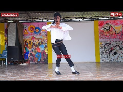 "TANZANIAN MICHAEL JACKSON DANCES ""HOLD ME"""