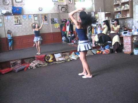 Восточные танцы от Сихам. Видео урок.