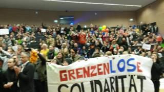 Tumulte bei AfD-Veranstaltung