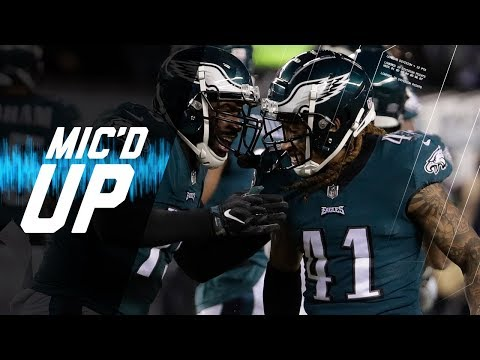 Video: Mic'd Up Falcons vs. Eagles Divisional Round