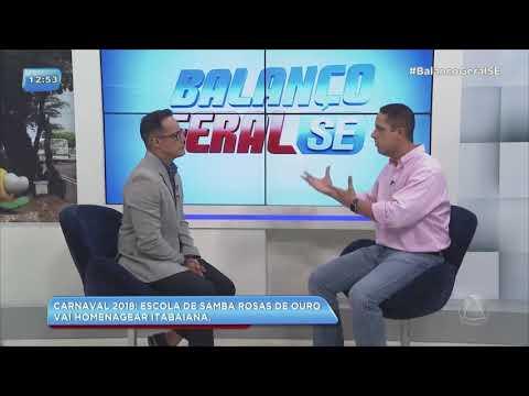 Carnaval 2018: Itabaiana é homenageada por escola de samba