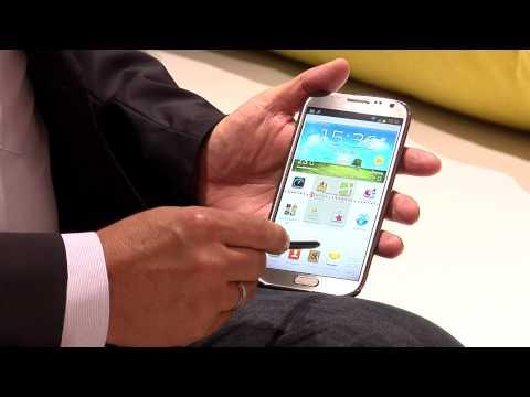 IFA: Telekom zeigt Samsung Galaxy Note II LTE