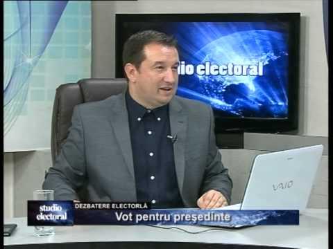 Emisiunea Studio electoral – Vot pentru președinte – 13 noiembrie 2014