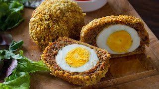 Baked Scotch Eggs by Home Cooking Adventure