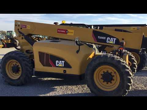 JLG INDUSTRIES, INC. TELEHANDLER TL642C equipment video El-uGFlIOAs