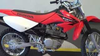 3. 2005 Honda CRF 80F-LOW HOURS-EXCELLENT CONDITION THROUGHT