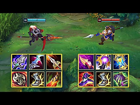 AD XIN ZHAO vs AP XIN ZHAO - League of Legends видео