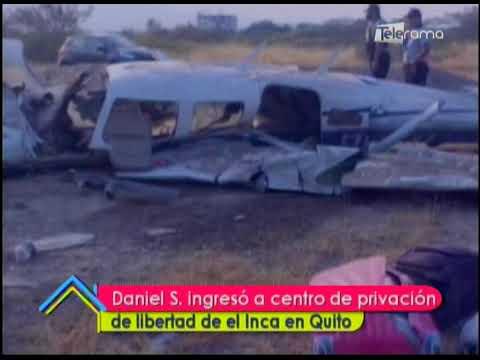 Daniel S. ingresó a centro de privación de libertad de el Inca en Quito