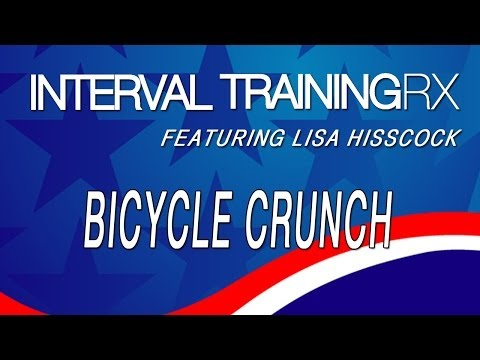 The Bicycle Crunch -INTERVAL TRAINING RX