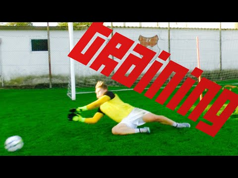 Goalkeepertraining | Torwarttraining | dynamic motion + save