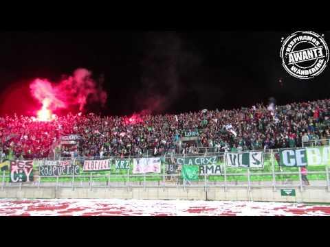 LOS PANZERS 2015 [HD] S WANDERERS VS LIBERTAD - Los Panzers - Santiago Wanderers