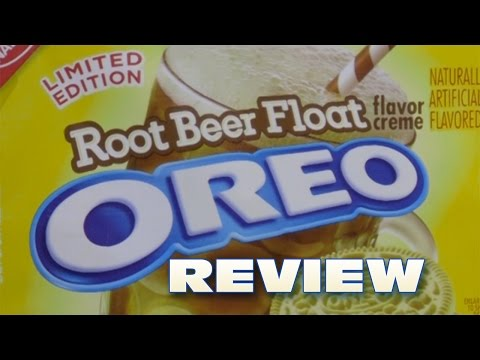 Root Beer Float Oreo Cookie Review – Oreo Oration