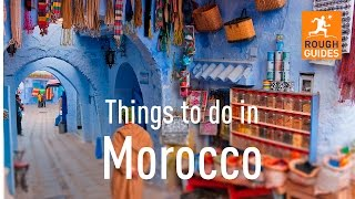 Trekking in the Atlas Mountains, traversing the Sahara on camel-back, or surfing along the Atlantic Coast: Morocco has a plethora of things to do and places to ...
