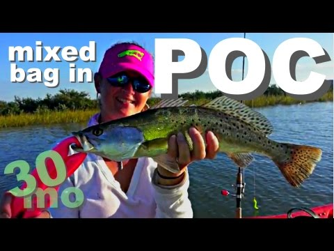 30milesOut – Port O'connor – Kayak Fishing Redfish, Trout, Flounder
