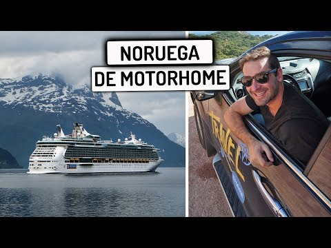 DIRIGINDO MEU CARRO NUM BARCO para Noruega  Travel and Share  Romulo e Mirella