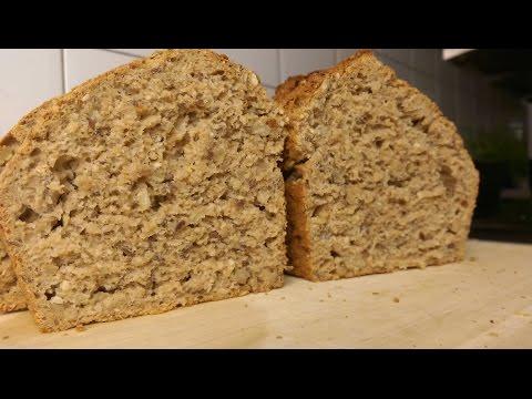 Veganes Brot backen, einfach, lecker, schnell