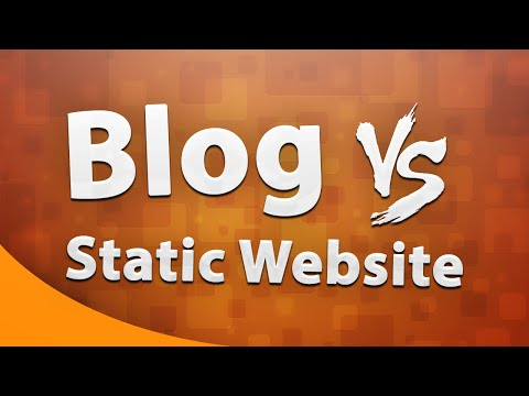 Blogging or Website?? Which is a better traffic strategy??