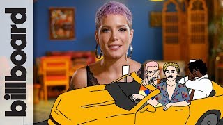 Video How Halsey Created 'Bad At Love' | Billboard | How It Went Down download in MP3, 3GP, MP4, WEBM, AVI, FLV January 2017
