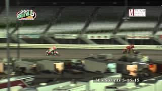 Knoxville Raceway 305 sprints 5-16-15