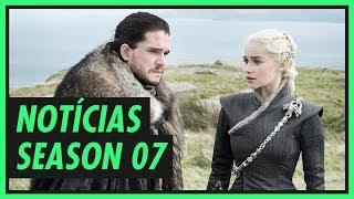 Saíram muitas notícias sobre a sétima temporada de Game of Thrones, inclusive sobre o possível encontro de Jon Snow e Daenerys Targaryen. CONTÉM ...