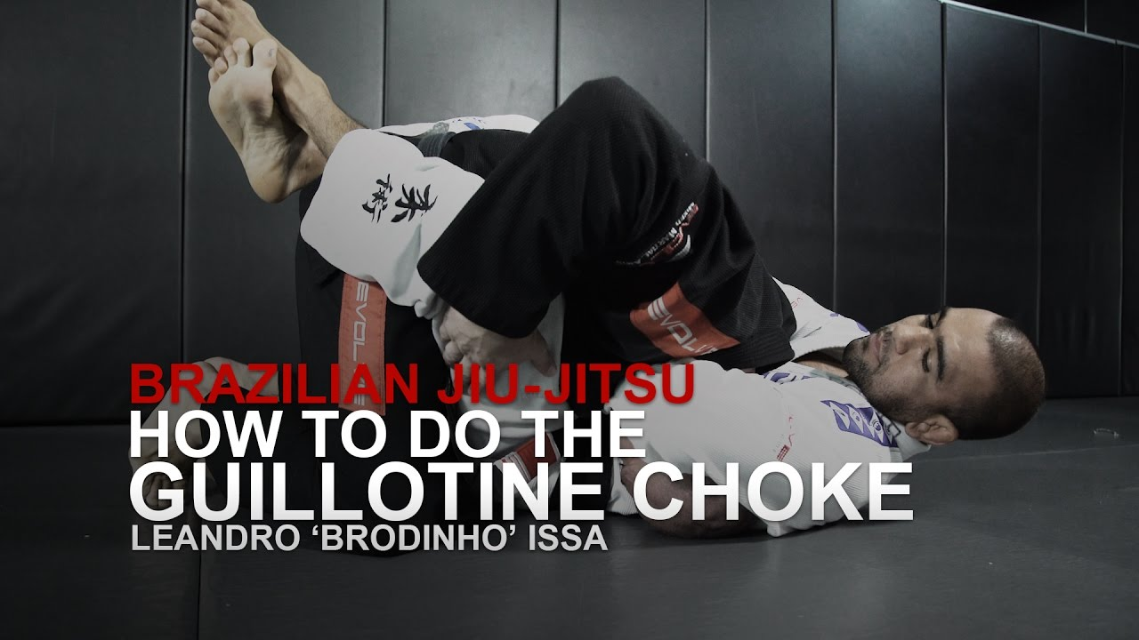 BJJ: How To Do A Basic Guillotine Choke | Evolve University