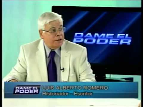 """Luis Alberto Romero en """"Dame el Poder"""" – 04-06-2015"""