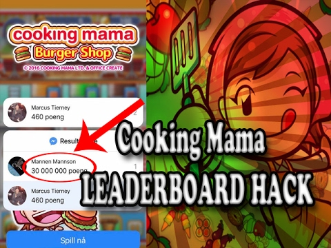 COOKING MAMA HACK | How To Hack Facebook Messenger Games |