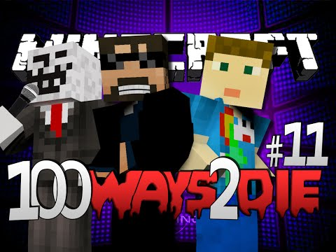 Minecraft 100 Ways To Die | Apple Cider Vinegar Challenge [11] (видео)