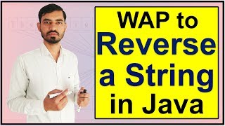 Program to Reverse A String in Java by Deepak