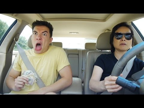 Guy Performs Hilarious Dance and LipSync Medley While Riding in the Car with His