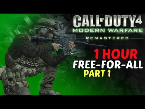 Video Call Of Duty: Modern Warfare Remastered - 1 Hour Free-For-All Multiplayer Gameplay Part 1 download in MP3, 3GP, MP4, WEBM, AVI, FLV January 2017